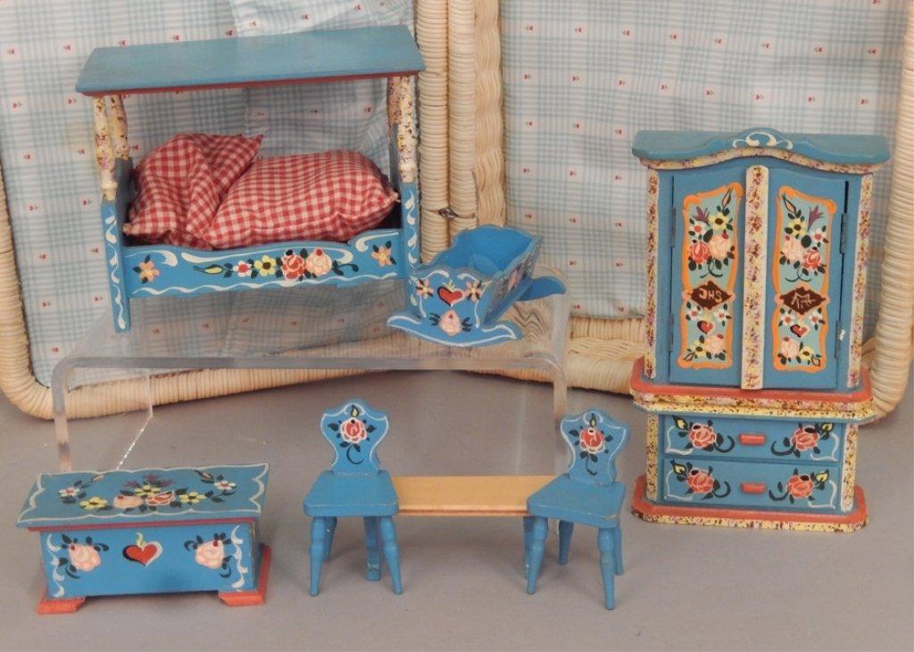 German 1970-80's Bedroom furniture set in original - 2