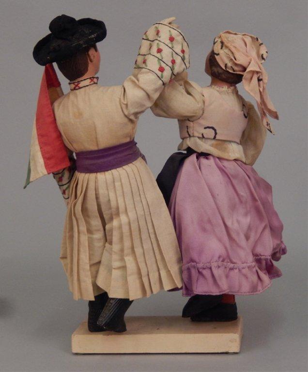 Pair of WPA Dolls Hungary - 3