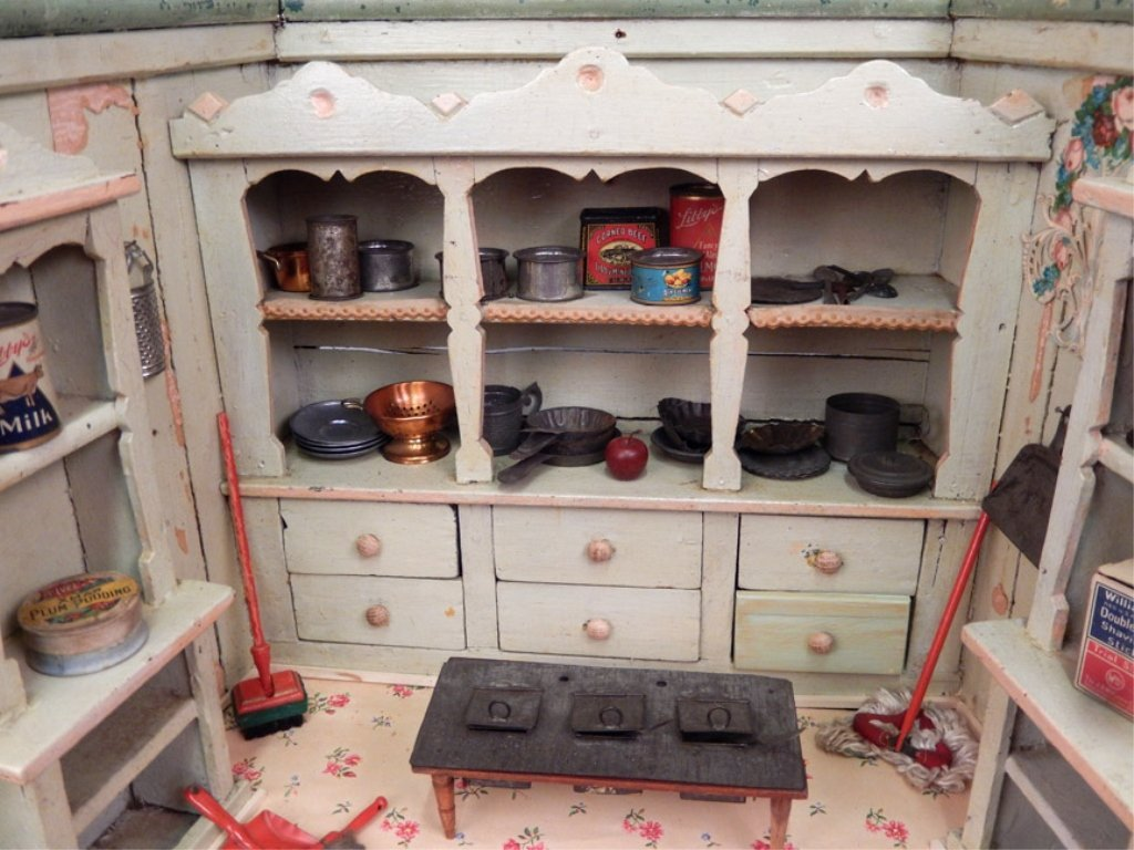Early 1900's German Primitive store display - 2