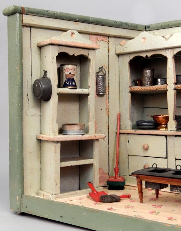 Early 1900's German Primitive store display - 3