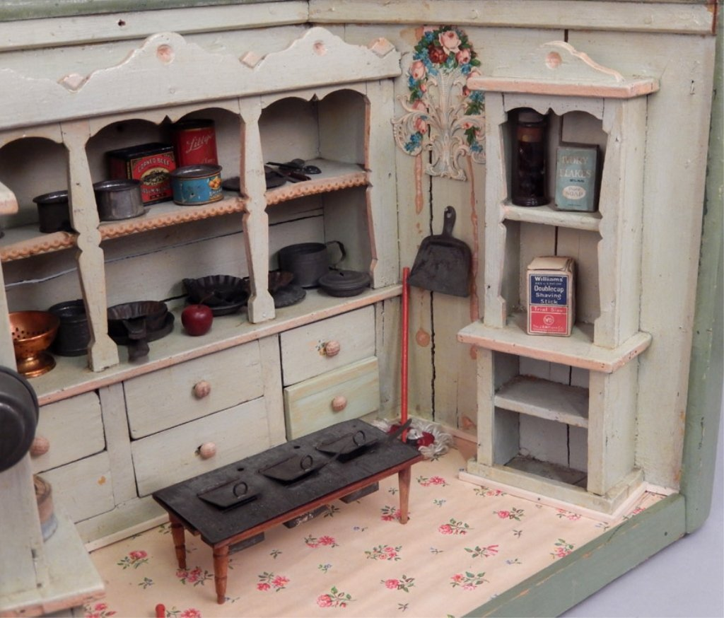 Early 1900's German Primitive store display - 5