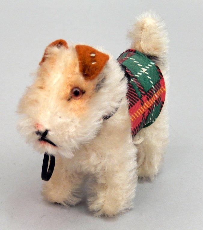 1950's Steiff Ginny Pup Foxy in original box - 3
