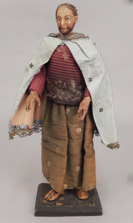 Early 1900's crèche male figure
