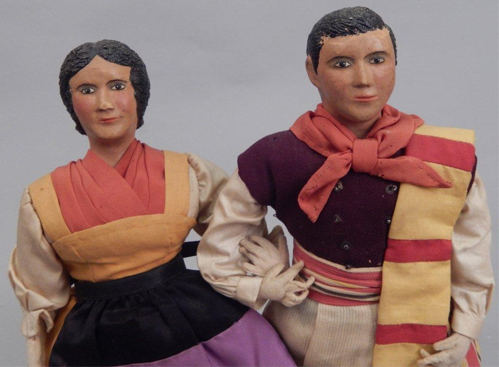 Pair of WPA dolls Italy - 3