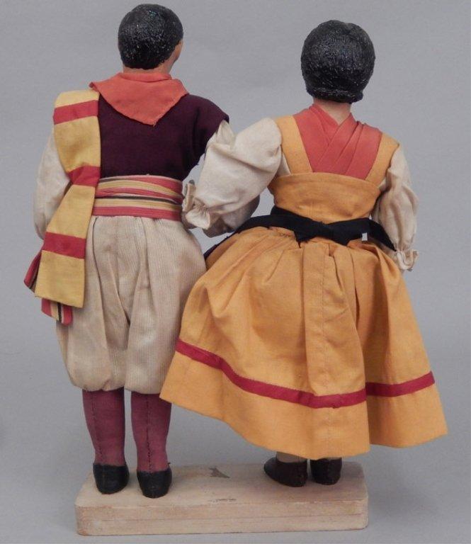 Pair of WPA dolls Italy - 4