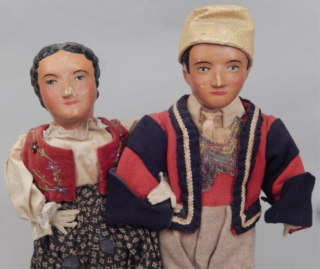 Pair of WPA Dolls Albania - 2