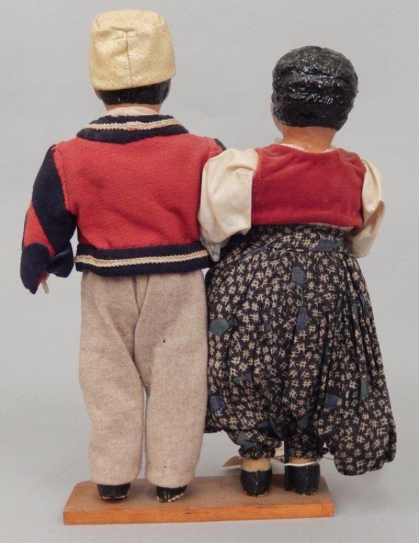 Pair of WPA Dolls Albania - 4