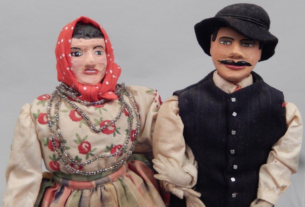 Pair of WPA Dolls Poland - 2