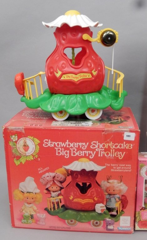 Grouping of Strawberry Shortcake items - 2