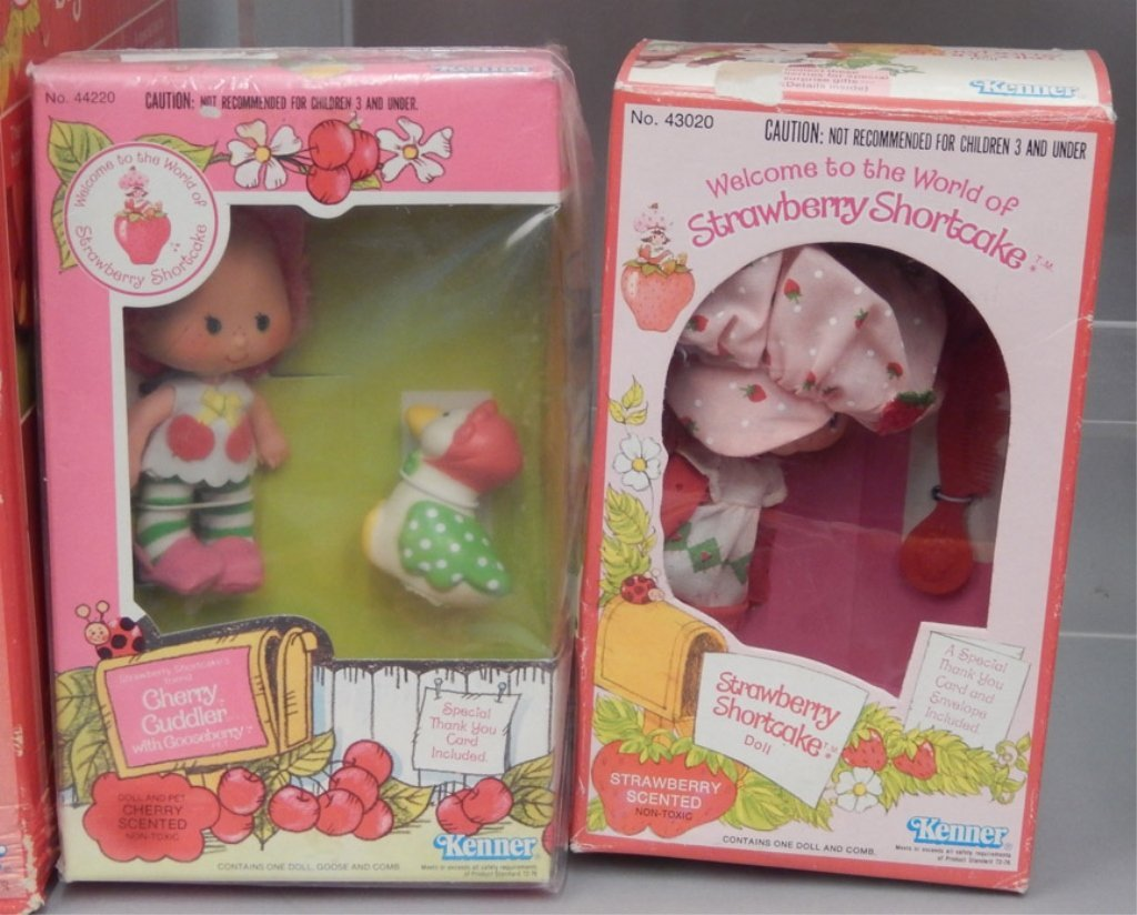 Grouping of Strawberry Shortcake items - 3