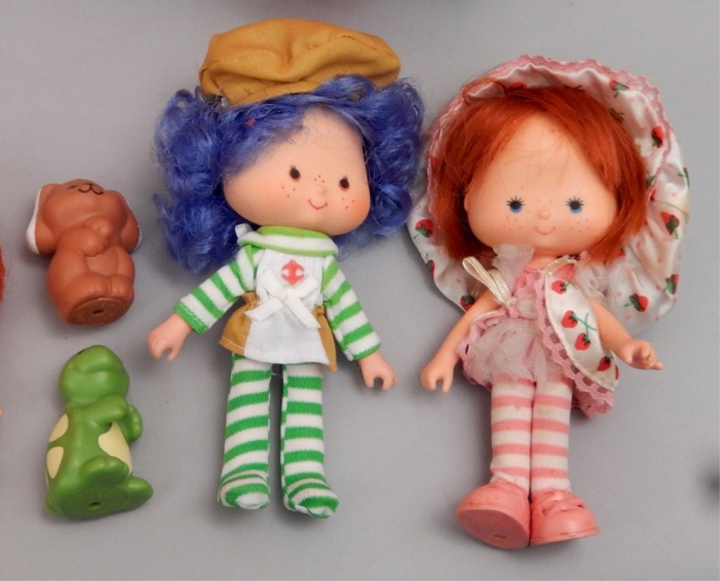 Grouping of Strawberry Shortcake items - 5