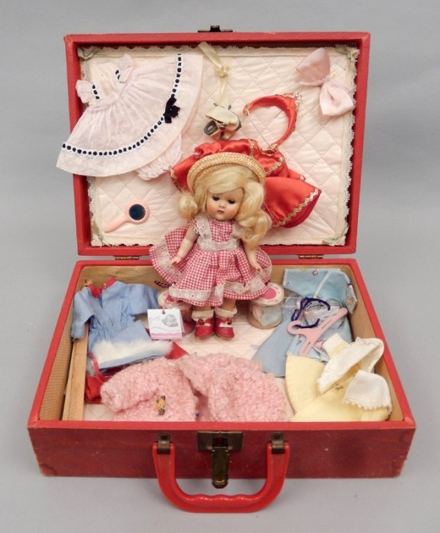 1952 Vogue Ginny Rich Uncle Trunk set