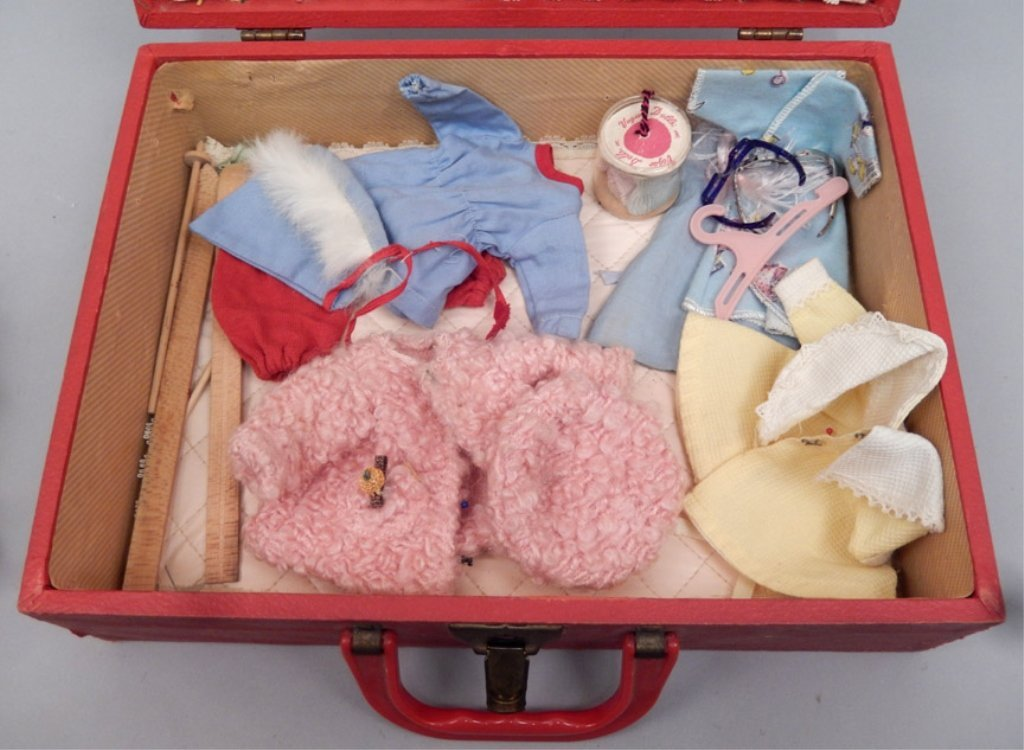 1952 Vogue Ginny Rich Uncle Trunk set - 3