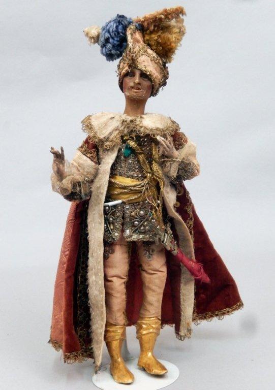 Late 1800's crèche male figure