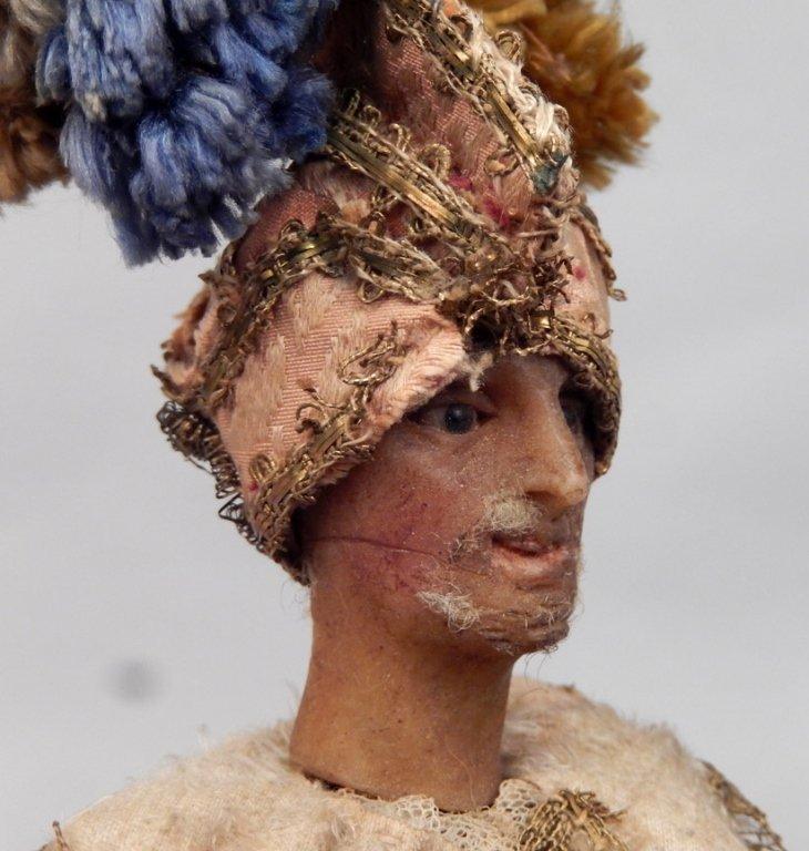 Late 1800's crèche male figure - 4
