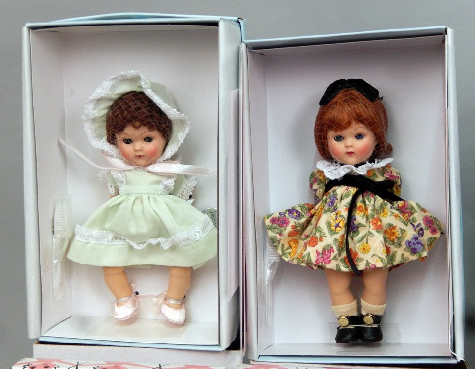 Eight new Vogue Ginny Collectible dolls in boxes - 2