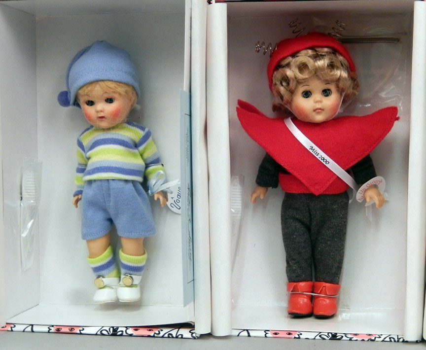 Eight new Vogue Ginny Collectible dolls in boxes - 3