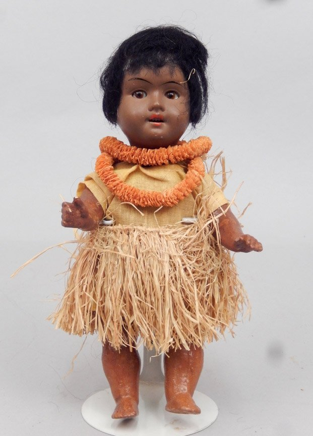 Walther & Sohn black bisque head doll