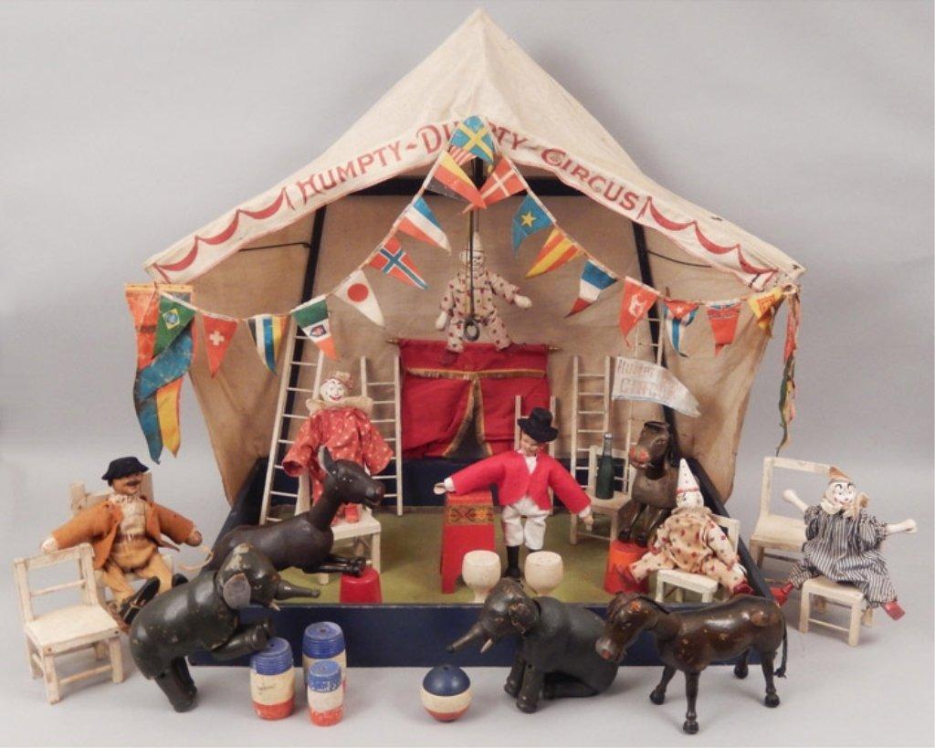 Schoenhut Humpty Dumpty Circus set