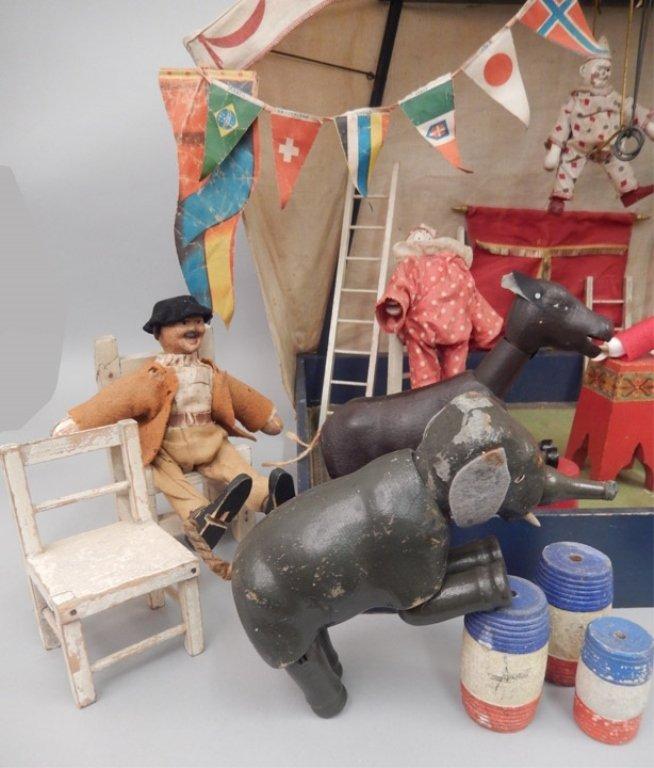 Schoenhut Humpty Dumpty Circus set - 4