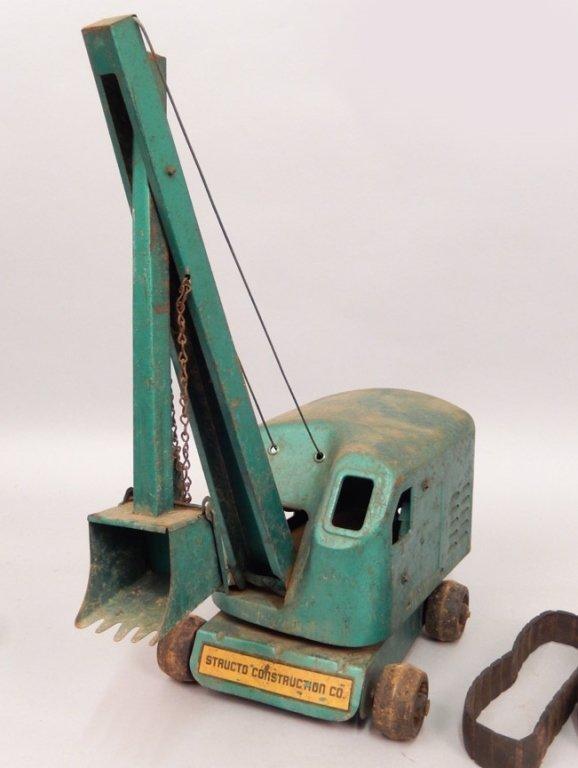 Structo Steam Shovel pressed steel - 2