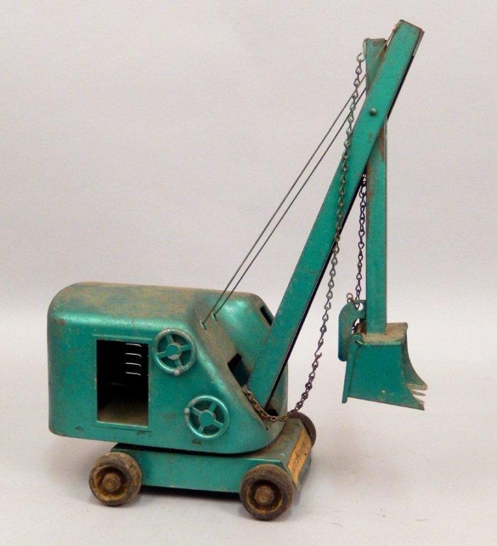 Structo Steam Shovel pressed steel - 4