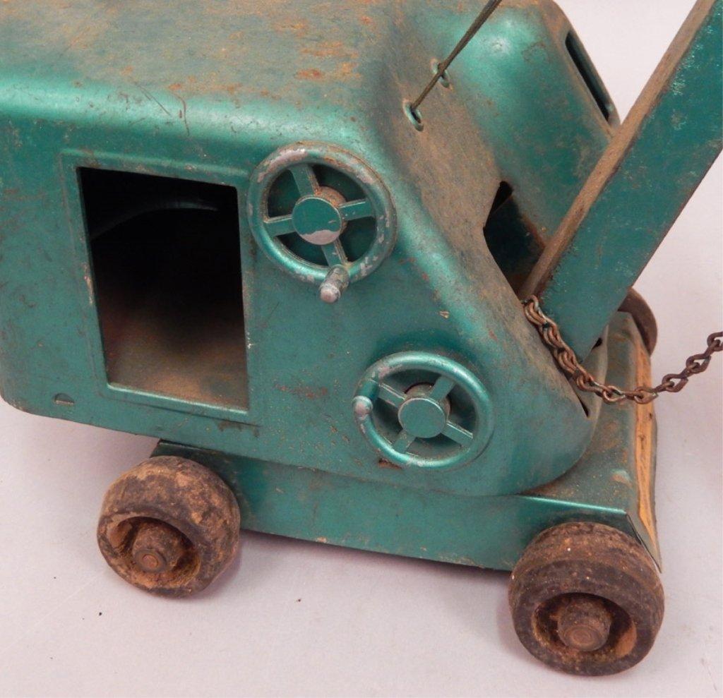 Structo Steam Shovel pressed steel - 5
