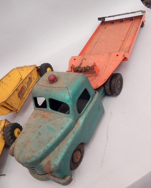 Three pressed steel trucks - 2