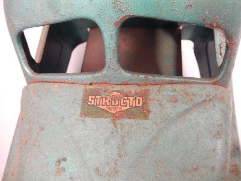 Three pressed steel trucks - 9
