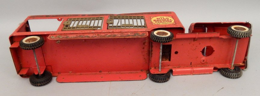 Buddy L The Wild Animal Circus pressed steel truck - 7