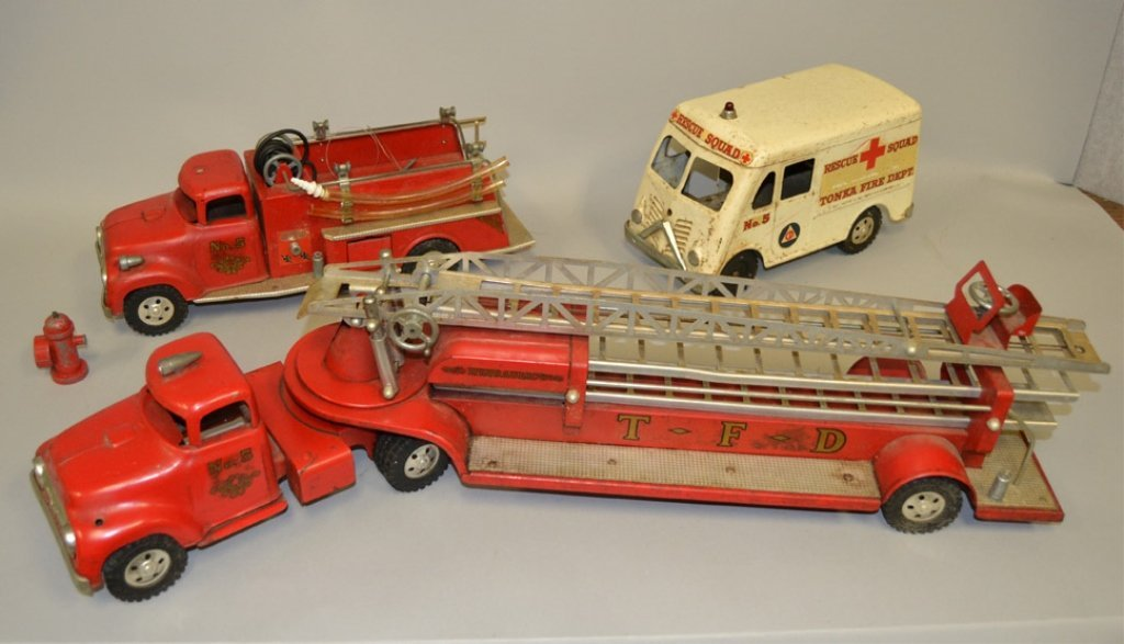 Tonka No. B-212 Fire Department Set