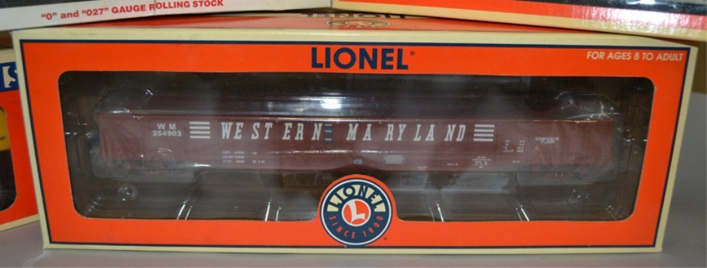 Eight Lionel post war O and O27 gauge railroad cars - 6