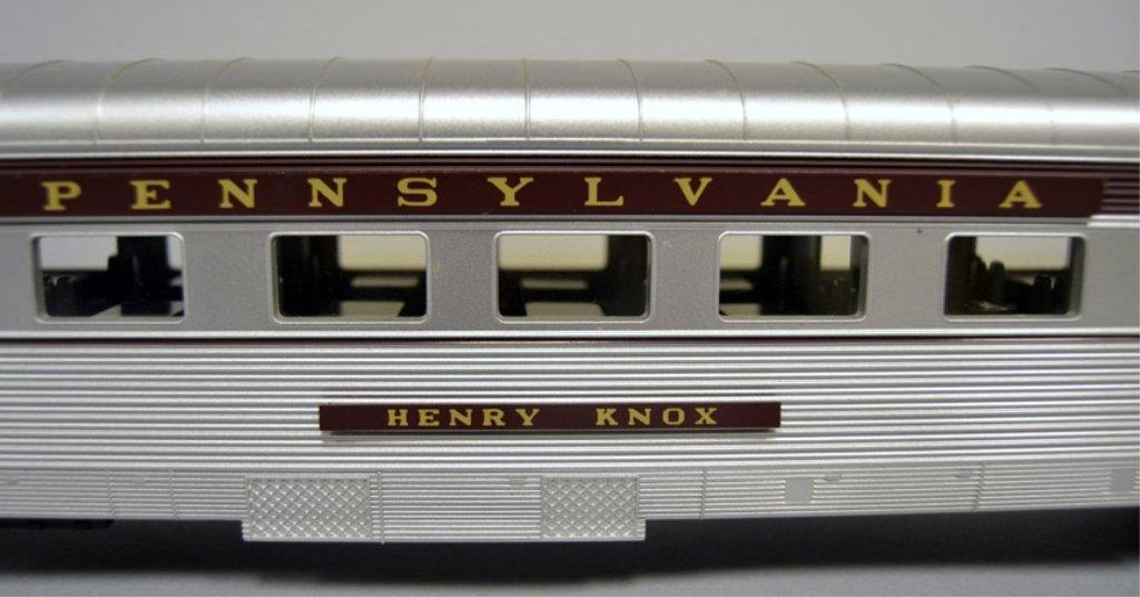 M.T.H. Pennsylvania 70' scale Streamlined Sleeper/Diner - 6