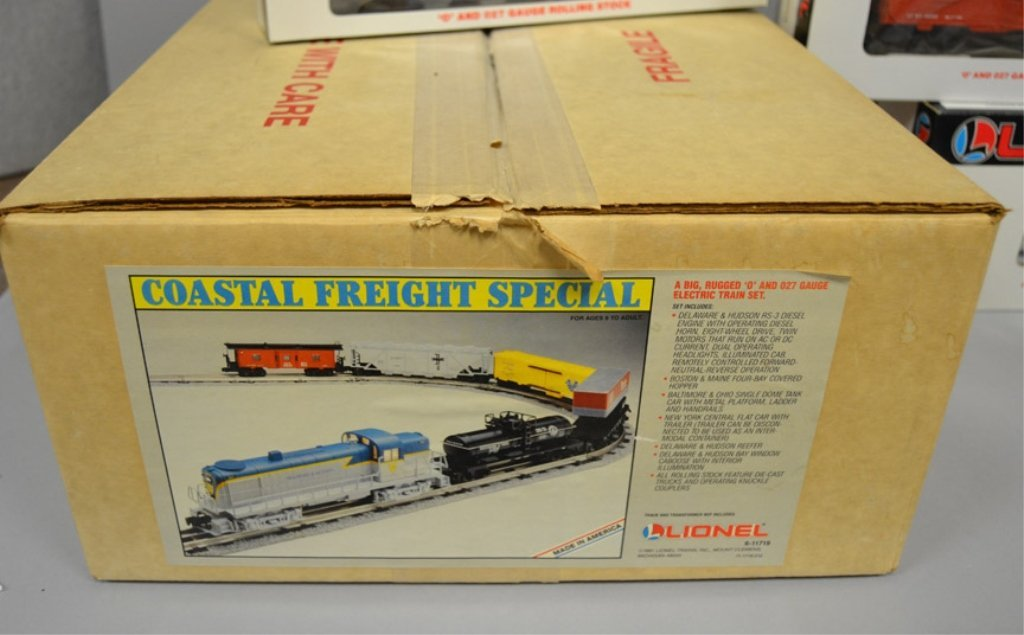 Lionel Coastal Freight Special in original box - 7