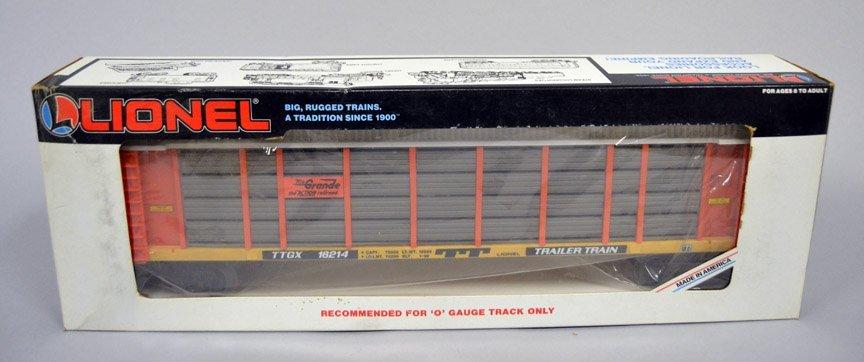 Five Lionel post war railroad cars - 6
