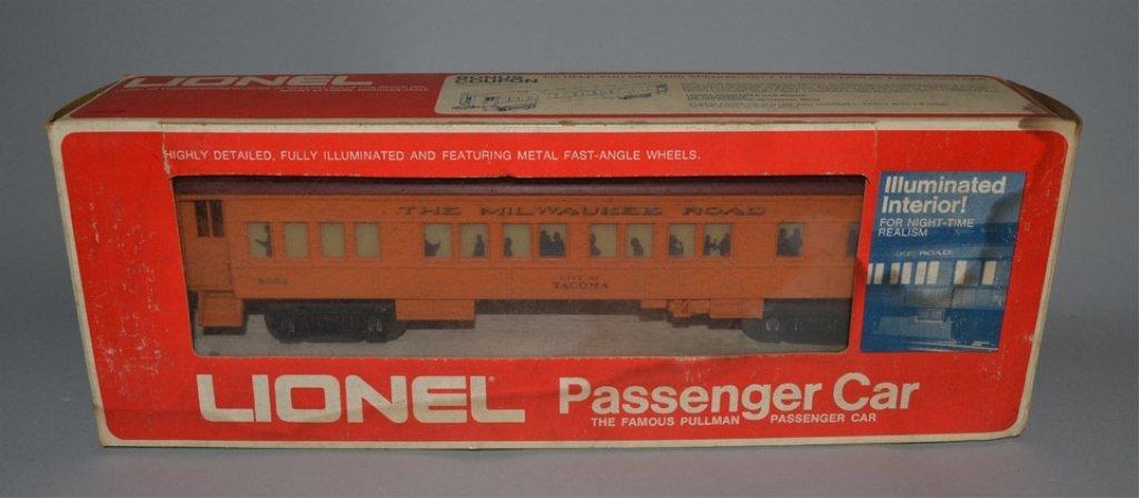 Four Lionel Passenger Cars - 3