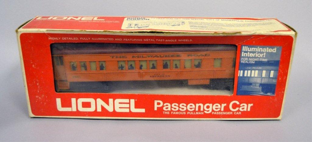 Four Lionel Passenger Cars - 4