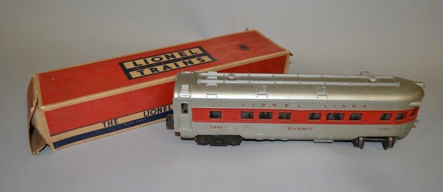 Four Lionel Passenger Cars - 5