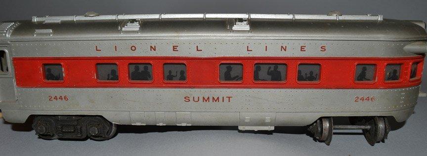 Four Lionel Passenger Cars - 6
