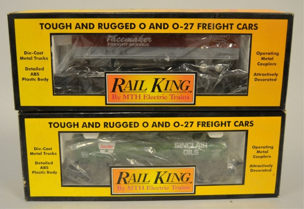 Two Rail King Freight cars