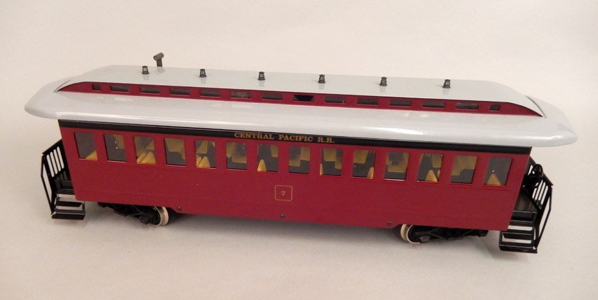 Marklin 1 G gauge Central Pacific RR passenger car
