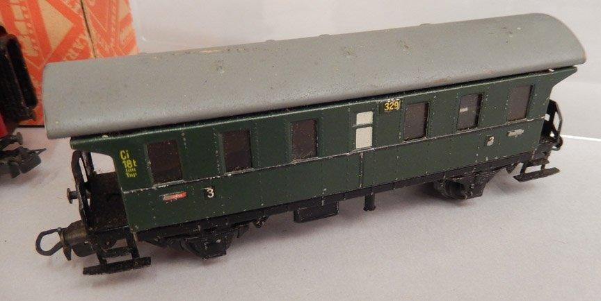 Six Marklin HO scale coach cars - 2