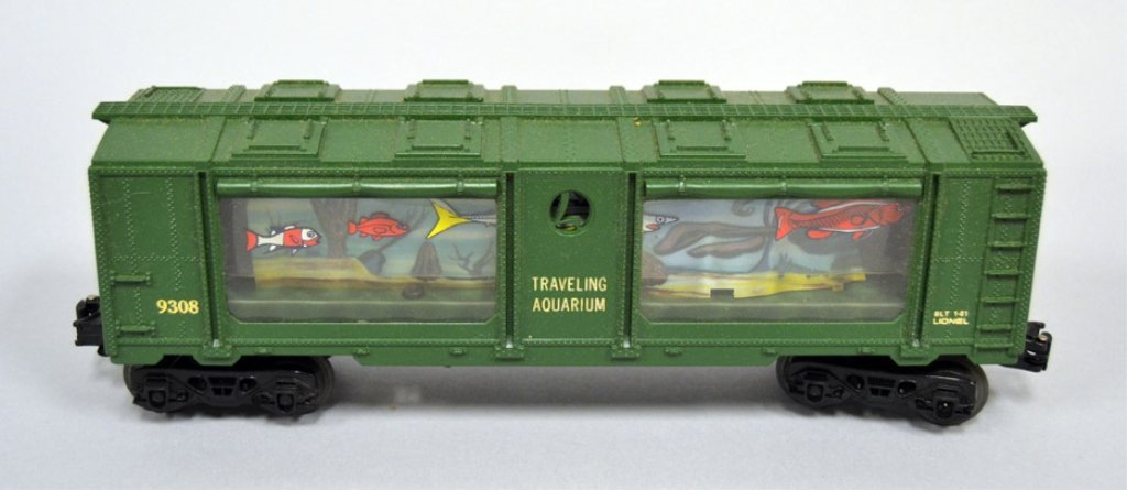 Lionel Traveling Aquarium 69308 Specialty car in - 2