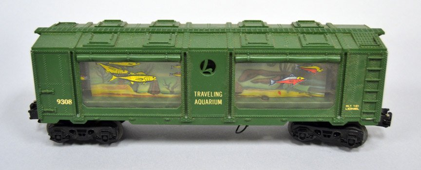 Lionel Traveling Aquarium 69308 Specialty car in - 3