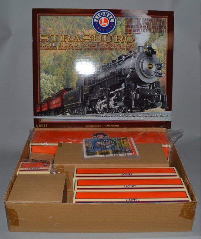 Lionel Strasburg Rail Road Steam Passenger train set in - 2