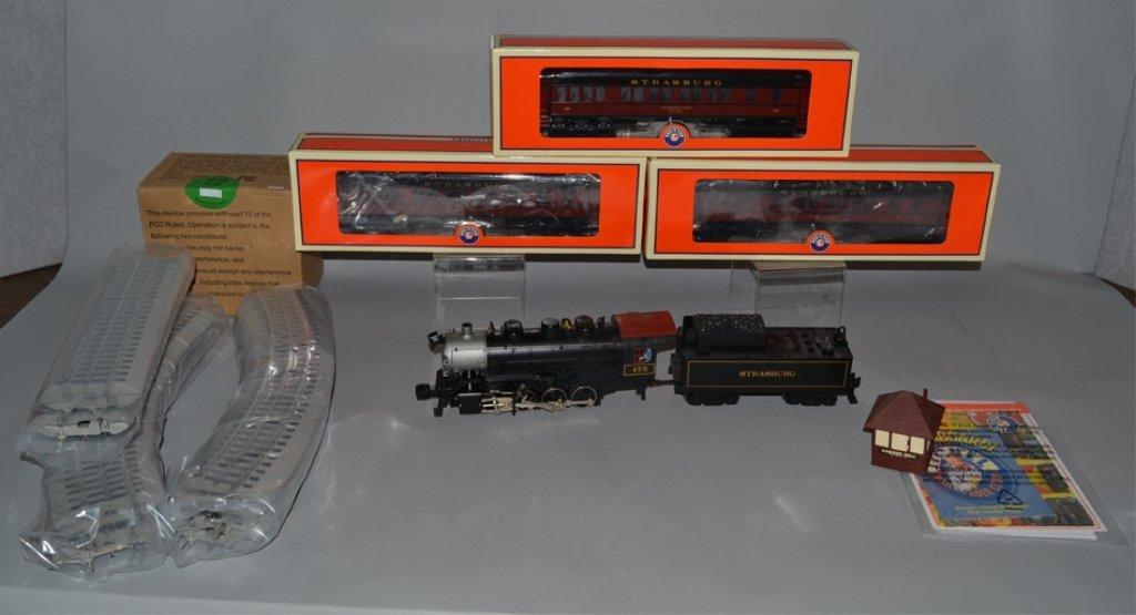 Lionel Strasburg Rail Road Steam Passenger train set in - 3
