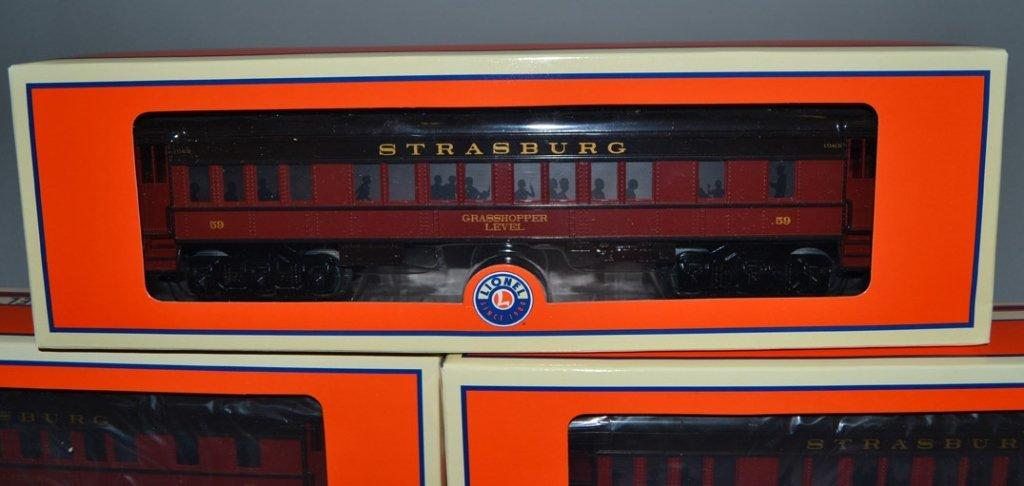 Lionel Strasburg Rail Road Steam Passenger train set in - 7