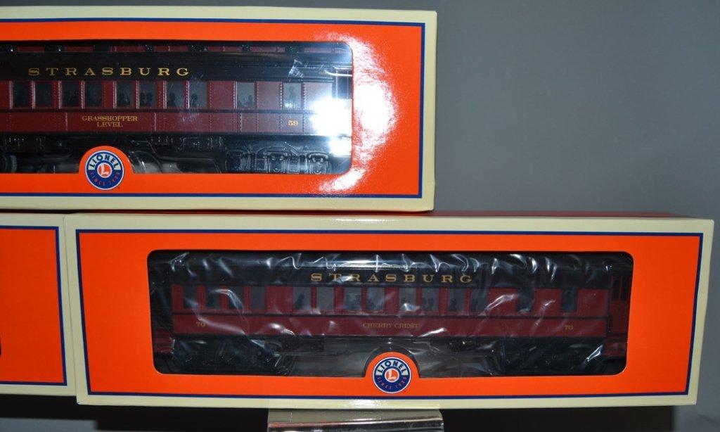 Lionel Strasburg Rail Road Steam Passenger train set in - 8