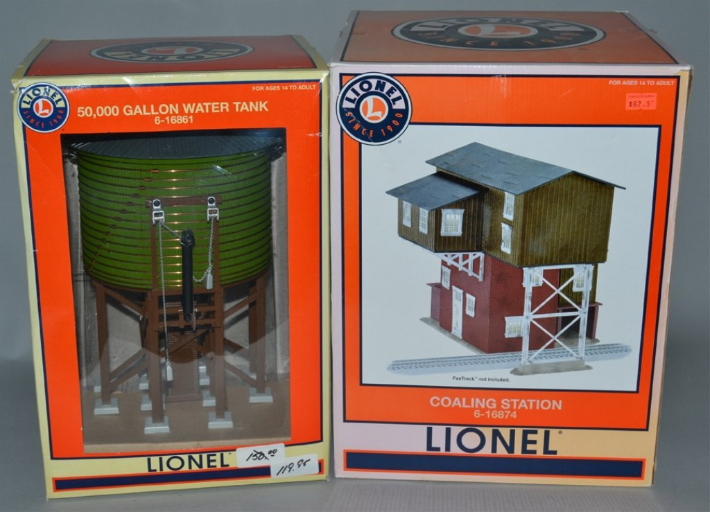 Lionel Coaling Station 6-16874 and Lionel 50,000 Gallon