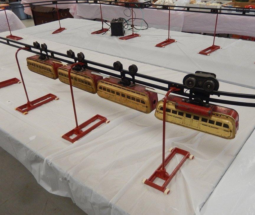 Leland Detroit Mfg. Co. Monorail set